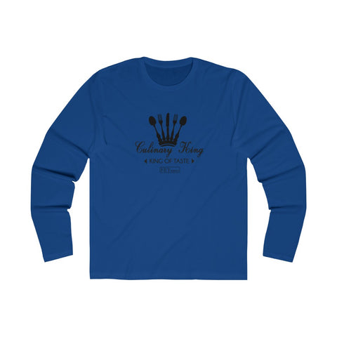 CULINARY FLY Men's Long Sleeve Crew Tee