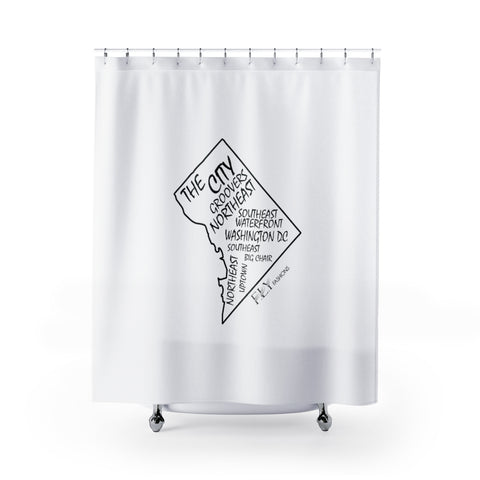 DC FLY Shower Curtains