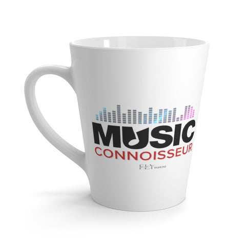 MUSIC CONNOISSEUR Latte Mug