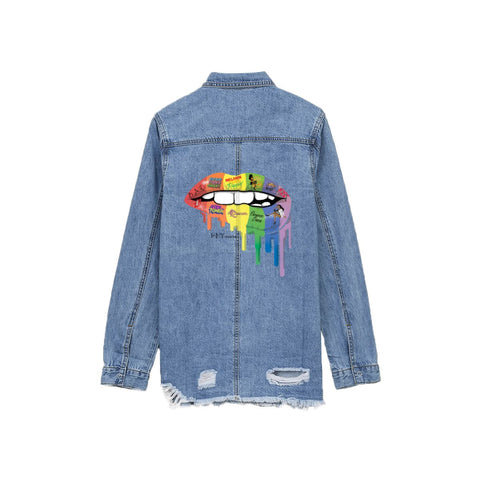 FLY FLAVA Women's Denim Jacket