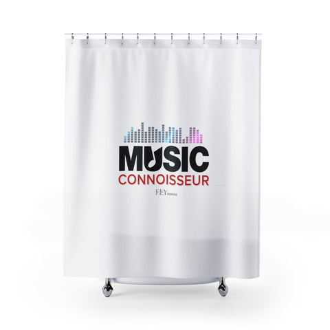 MUSIC CONNOISSEUR FLY Shower Curtains