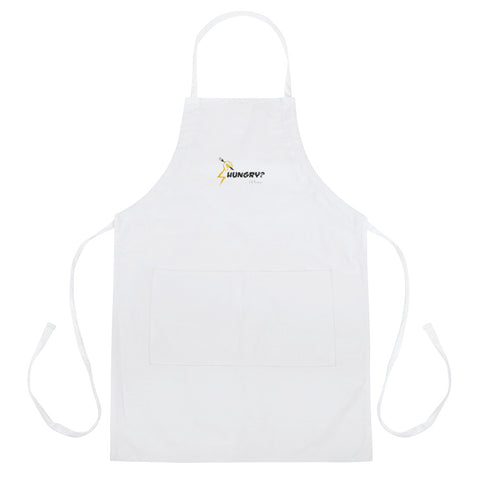 HUNGRY FLY Embroidered Apron - F.L.Y - First Love Yourself Fashions