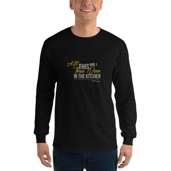 THROW DOWN FLY Men's Long-Sleeve T-shirt - F.L.Y - First Love Yourself Fashions