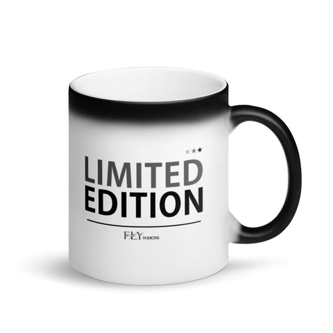 LIMITED EDITION FLY Matte Black Magic Mug