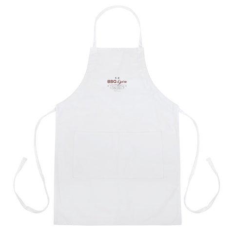GRILL MASTER FLY Embroidered Apron - F.L.Y - First Love Yourself Fashions