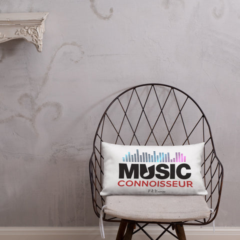 MUSIC CONNOISSEUR FLY Pillow - F.L.Y - First Love Yourself Fashions