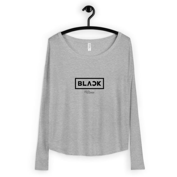 ALL BLACK FLY Ladies' Long Sleeve Tee