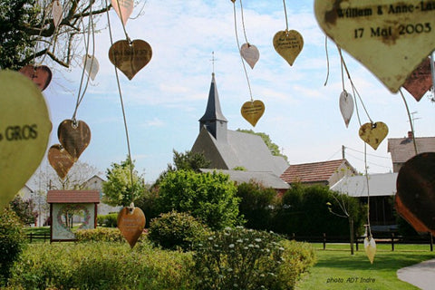 Village Saint Valentin in France