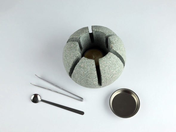 Granite Resin Heater (Smooth Blue, Green)