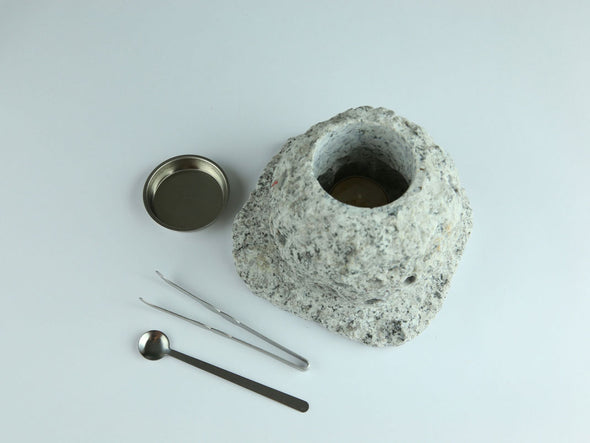 Granite Resin Heater (Rough Grey)