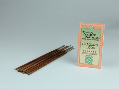 Nature Nature Pure Resin Incense (Dragons Blood Range)
