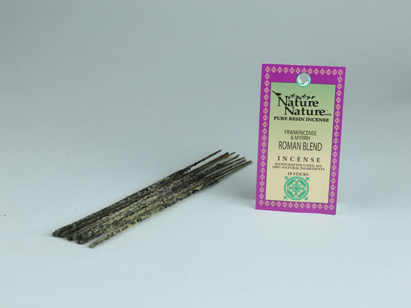 Nature Nature Pure Resin Incense (Frankincense & Myrrh Blends)