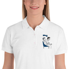 Gaming Logo Polo Shirt für Damen