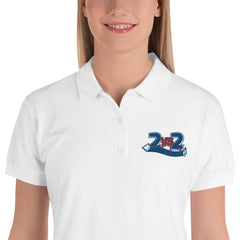 2 gg. 2 Handball Logo Polo Shirt Damen