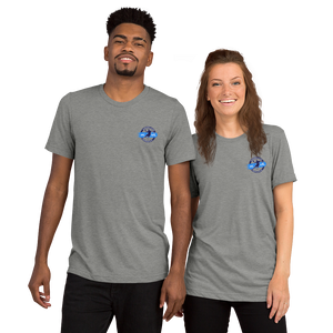 HC VfL Heppenheim Logo Triblend T-Shirt embroidered for him & her