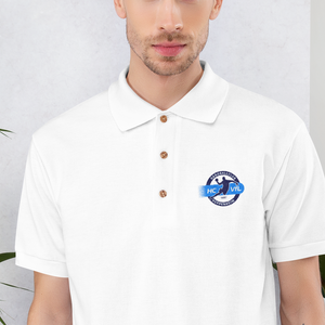 HC VfL Heppenheim logo embroidered polo shirt
