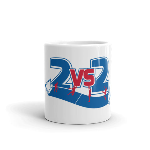 2 vs. 2 cup