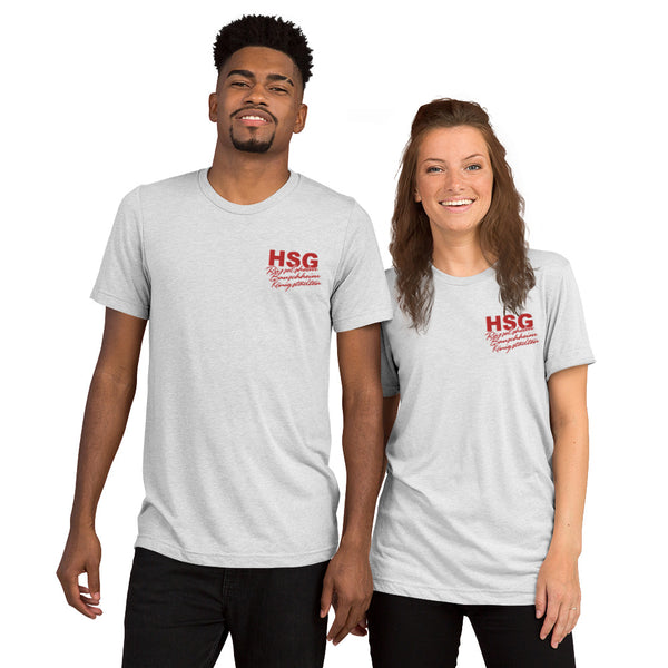 HSG Rü / Bau / Kö Triblend T-Shirt embroidered for him & her