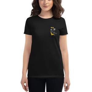 Game Mode Women's Short Sleeve Embroidered T-Shirt
