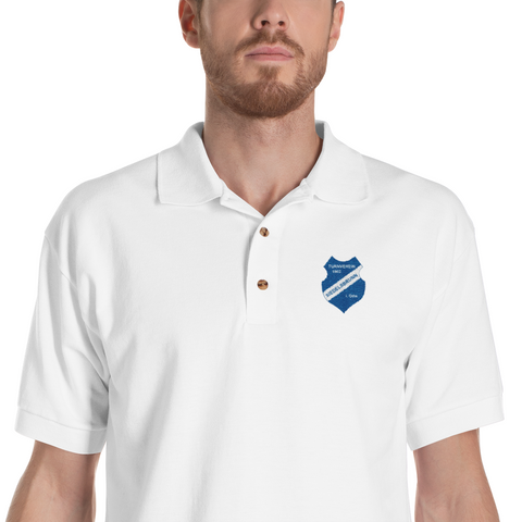 TV Siedelsbrunn logo embroidered polo shirt