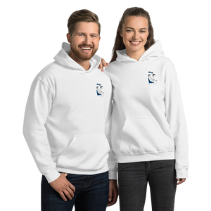 Embroidered game mode hoodie for HER & HIM