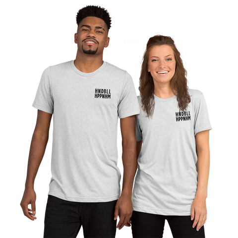 HNDBLL HPPNHM - Tri-blend t-shirt with small lettering