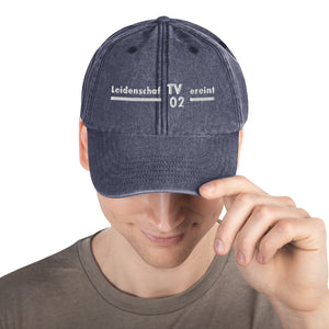 TV Siedelsbrunn vintage cap with white lettering
