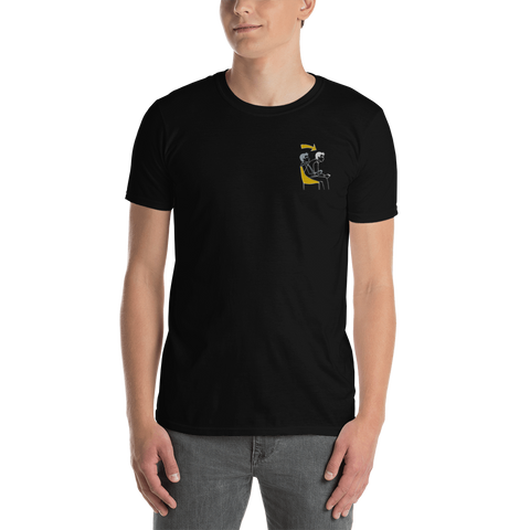 Embroidered game mode t-shirt