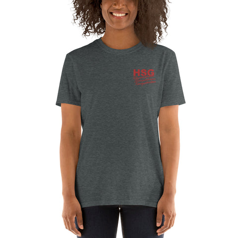HSG Rü / Bau / Kö T-shirt embroidered
