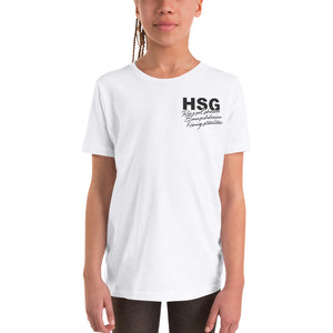 HSG Rü / Bau / Kö JUGEND short-sleeved T-shirt for HER & HIM white
