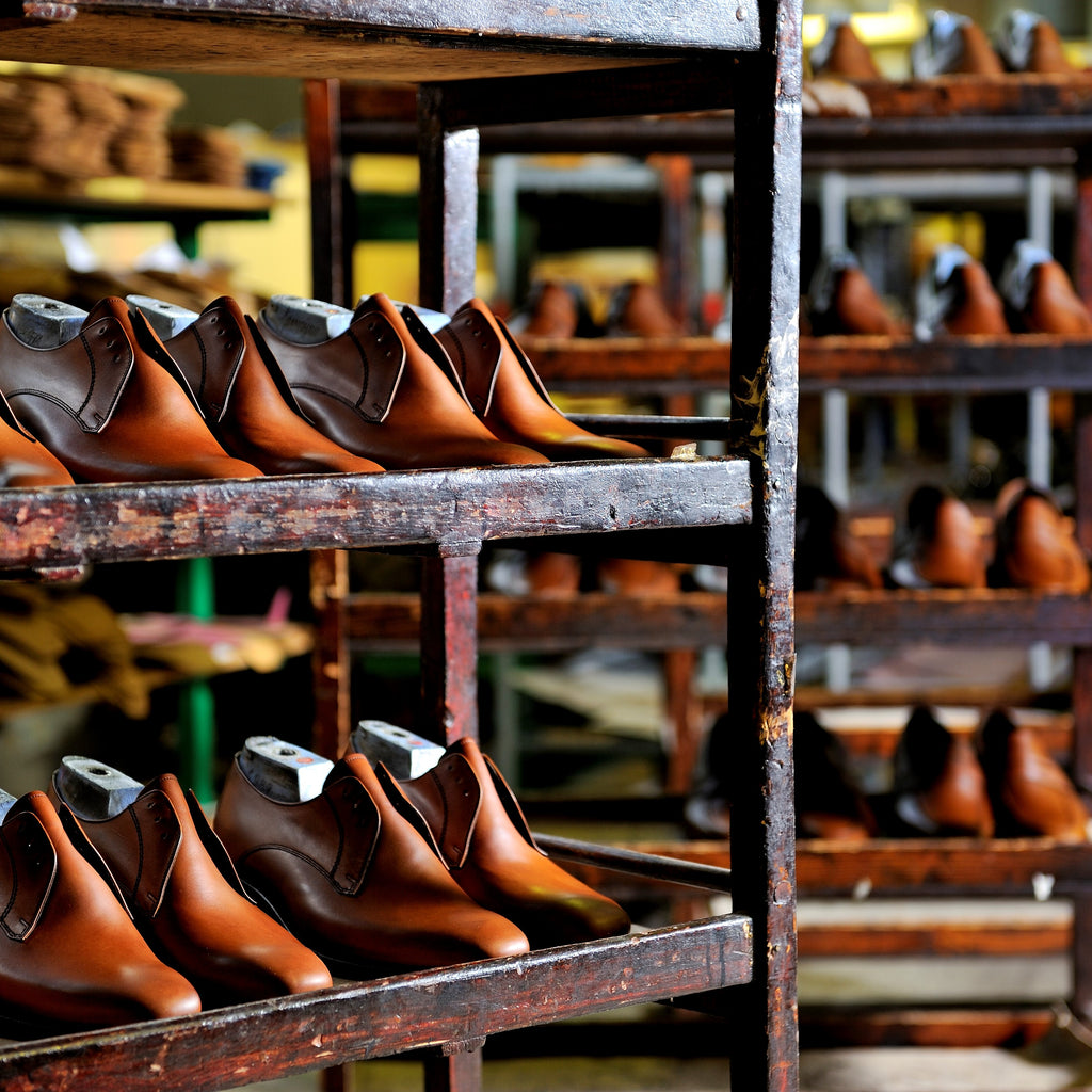THE STEPS OF TRADITION –BARKER SHOES