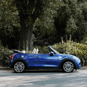 Not only great fabric is made in England - MINI Cooper S Convertible