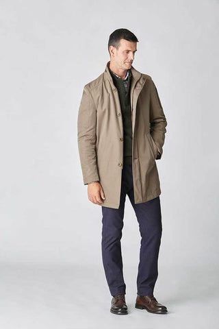 Beige Trench Coat by Florentino