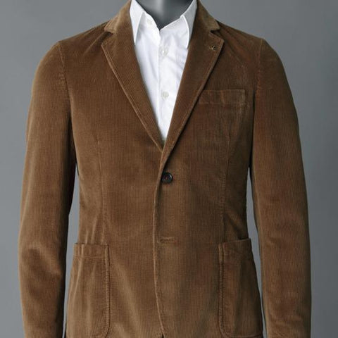 Winter Cord Jacket by Florentino