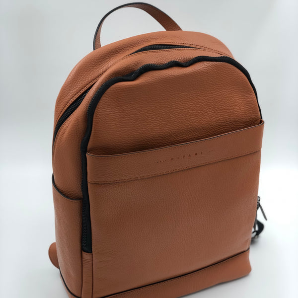 Leather Backpack - Toffee