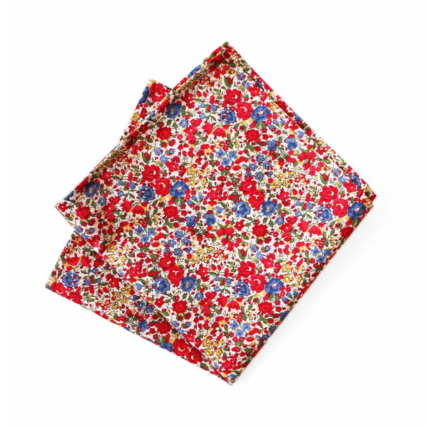 Liberty - Emma & Georgina Pocket Square by Parisian