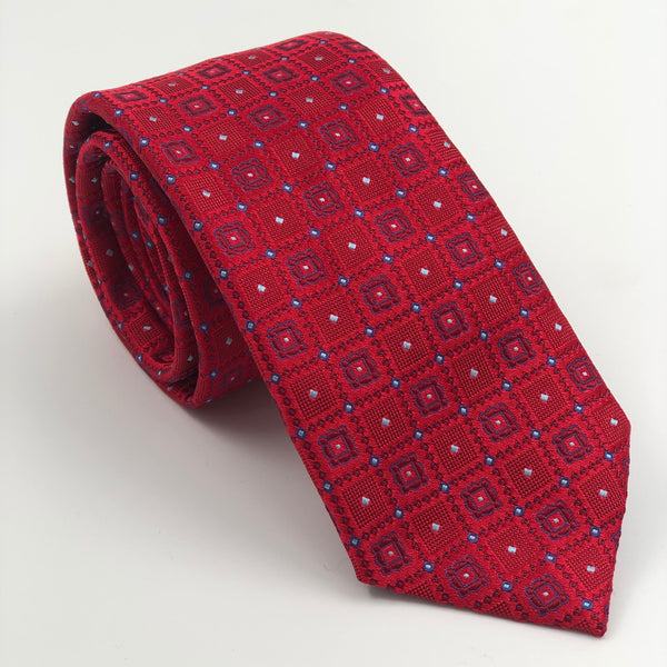 Red Square Tino Cosma Silk Tie