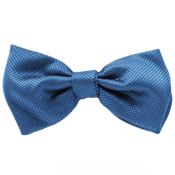 Teal Jacquard Bow Tie by Fellini