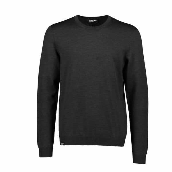 Charcoal Classic Crew by Standard Issue