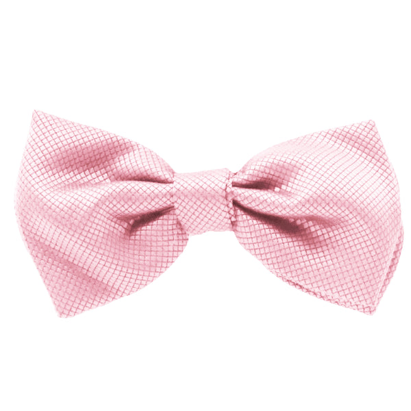 Pink Jacquard Bow Tie by Fellini
