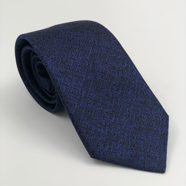 Purple Black Silk Tie by Cerruti 1881