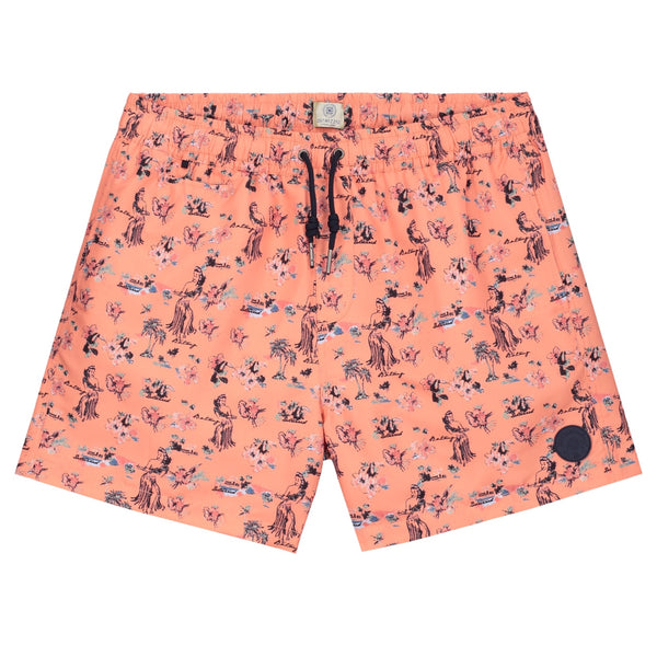 Hawaiin Print Swimshorts