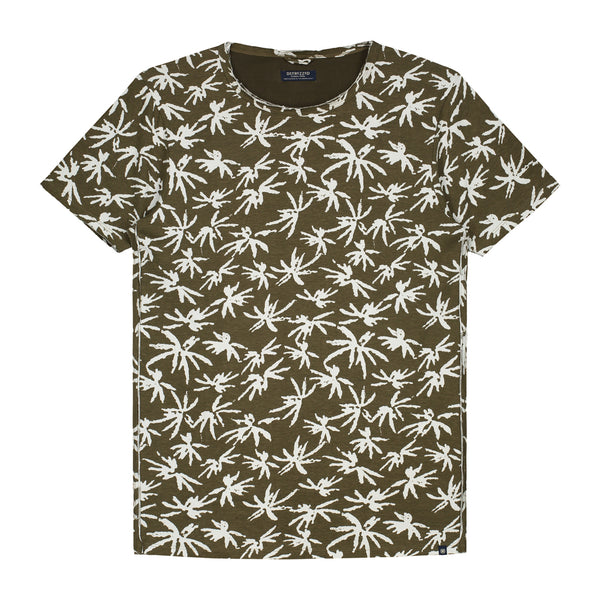 Palm Tree T-Shirt by Dstrezzed