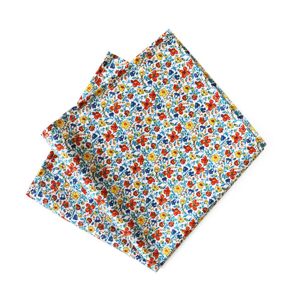 Liberty - Helenas Meadow Pocket Square by Parisian