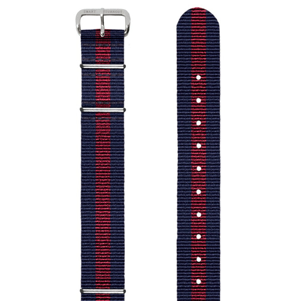 University of Pennsylvania 20mm Grosgrain Watch Strap