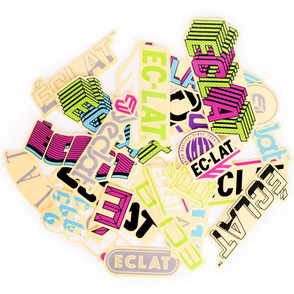 Eclat Assorted Sticker Pack