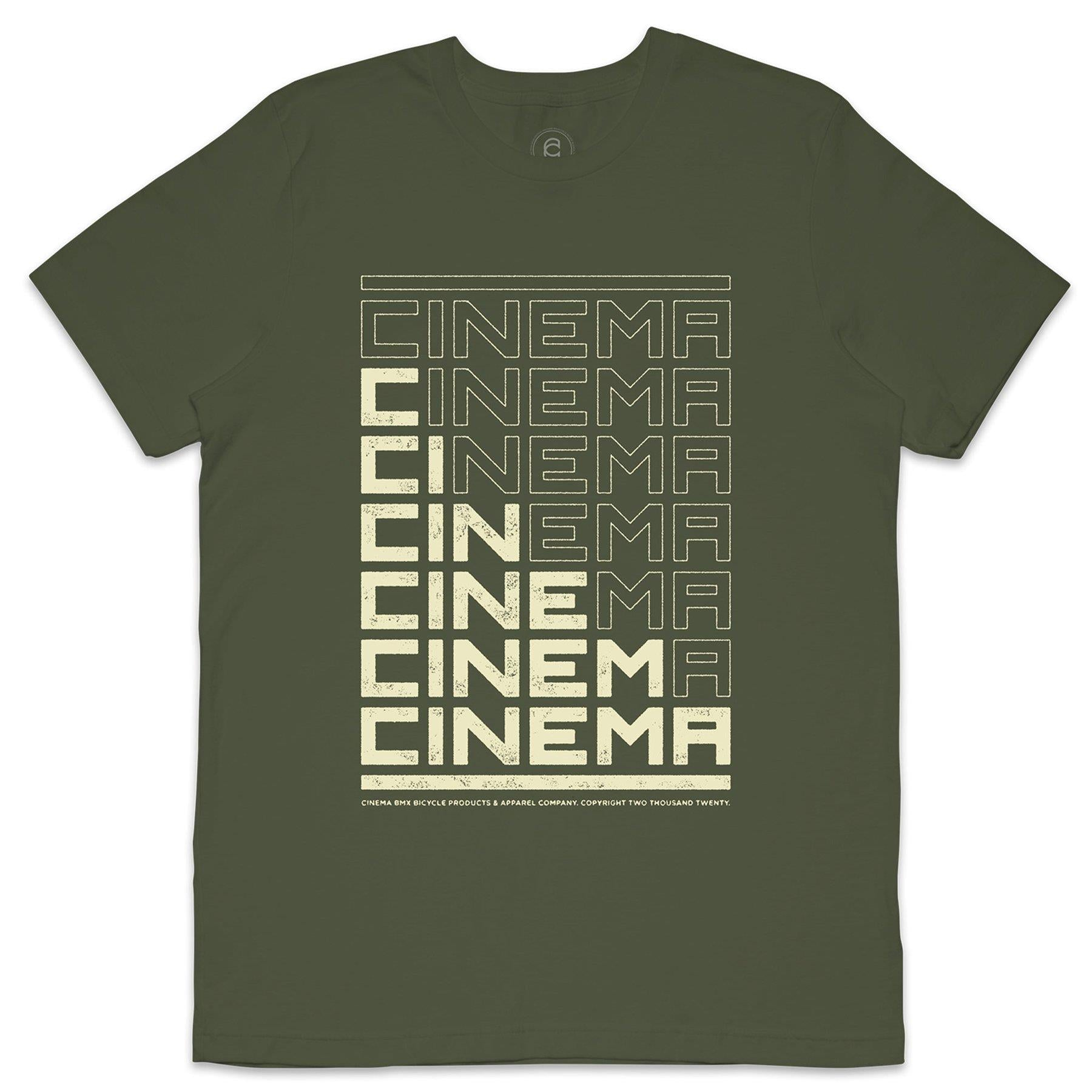 Cinema Block Fill T-Shirt - Military