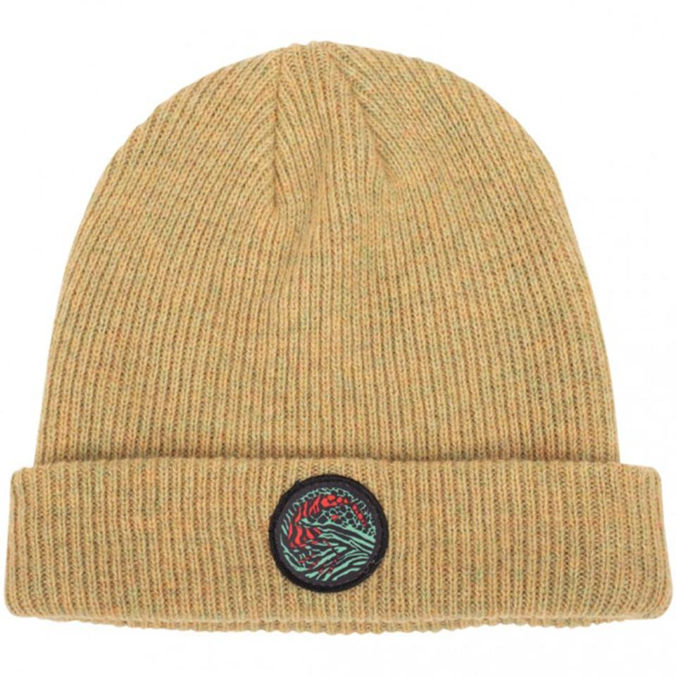 Image of Shadow Chimera Wool Beanie Mustard