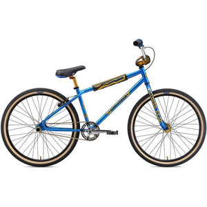 "SE Bikes OM Flyer 26"" BMX Bike 2019 Electric Blue"