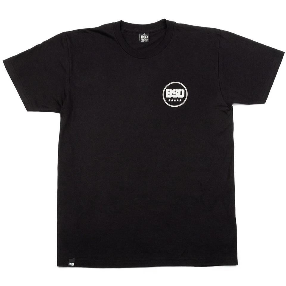 BSD Fully Roasted T-Shirt - Black